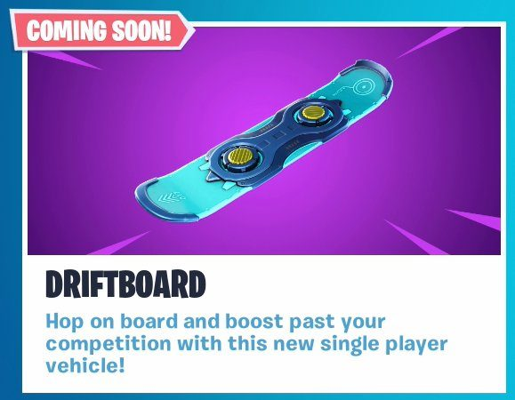 Fortnite Snowboard