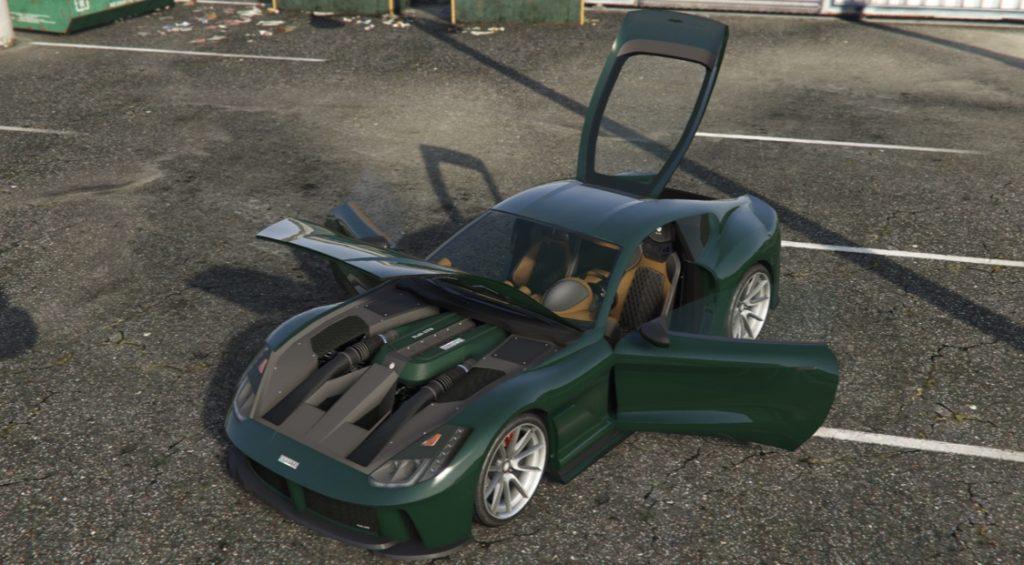 GTA 5 Online Itali GTO