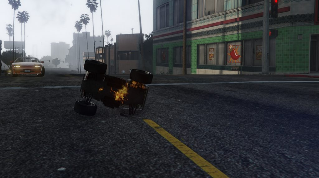 GTA 5 Online RC Bandito explodiert