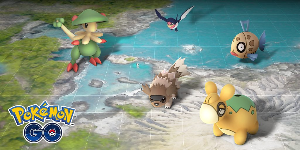 Hoenn Event Pokemon GO