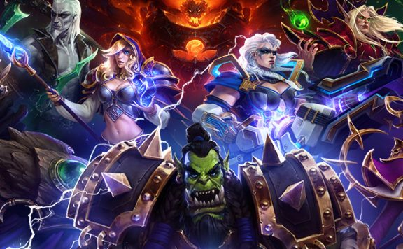 HotS multiple heroes title