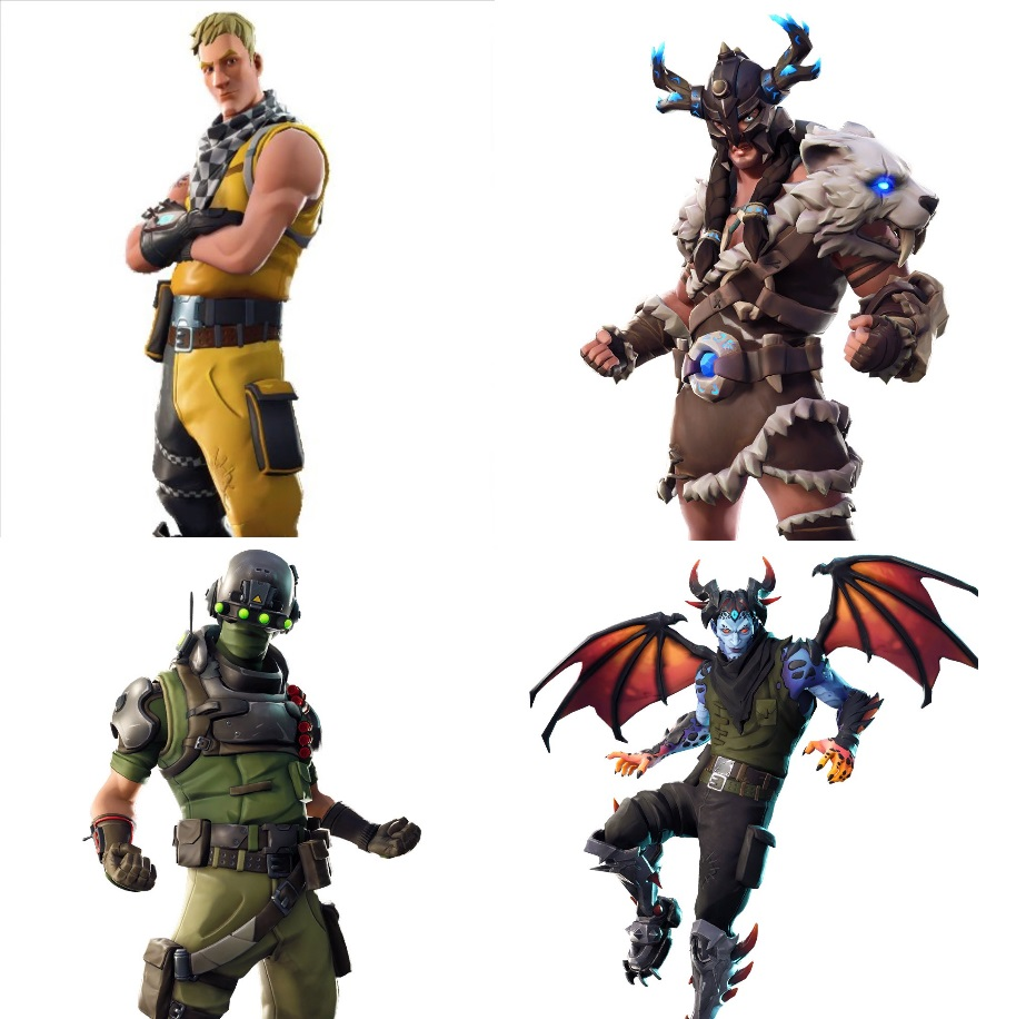 Neue Fortnite Skins
