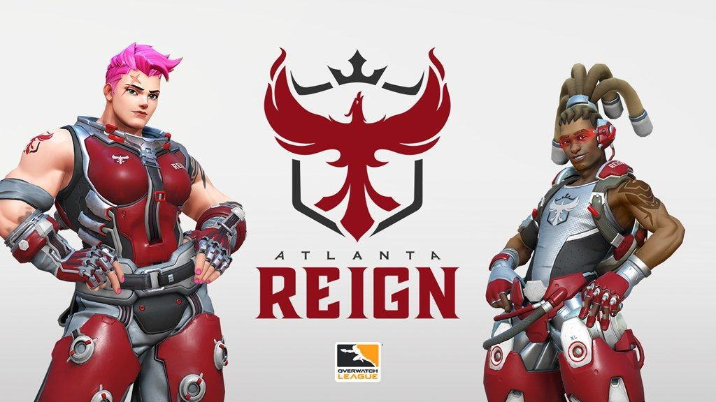 Overwatch League Atlanta Reign Icon
