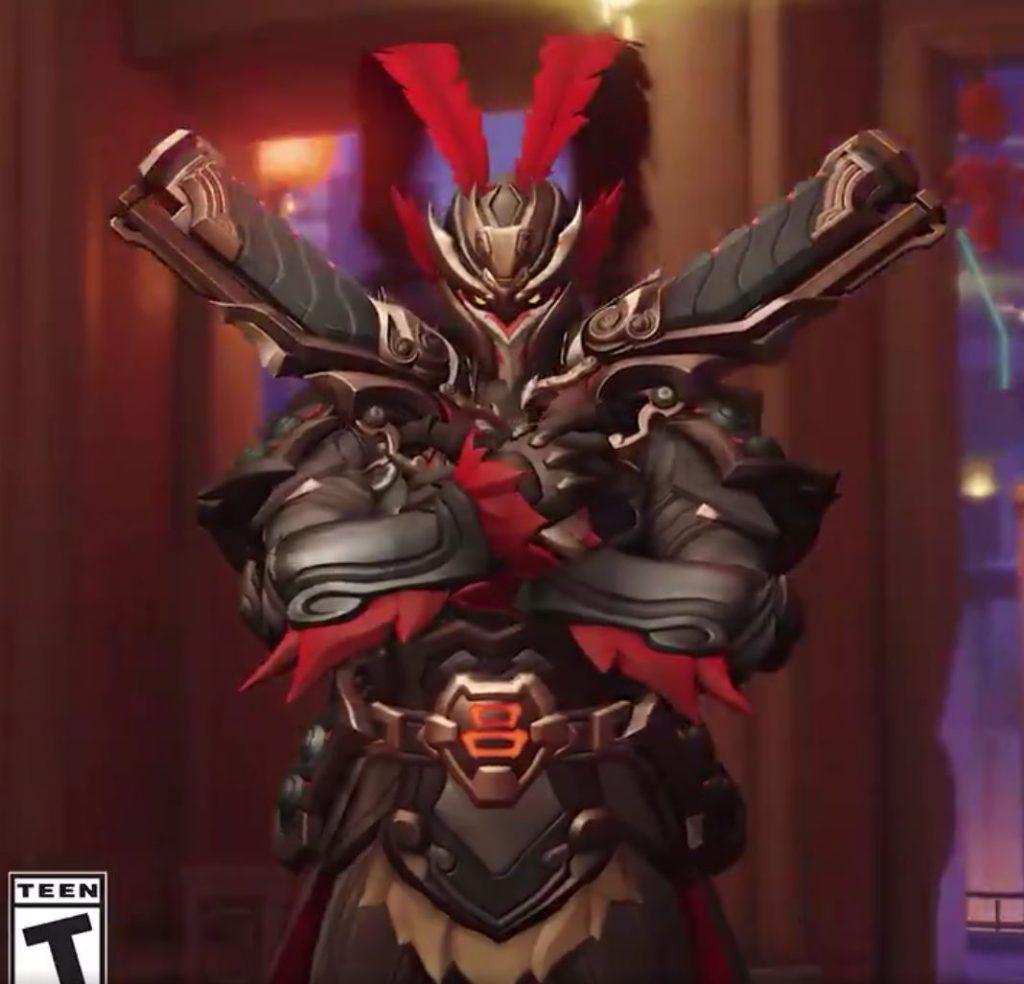 Overwatch Neujahr 2019 Skin Reaper