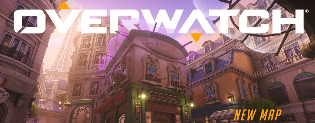 Overwatch New Map Paris title