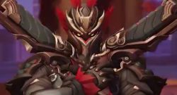 Overwatch Reaper New Year Skin black red