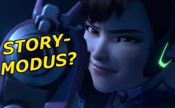 Overwatch Story Modus Dva title