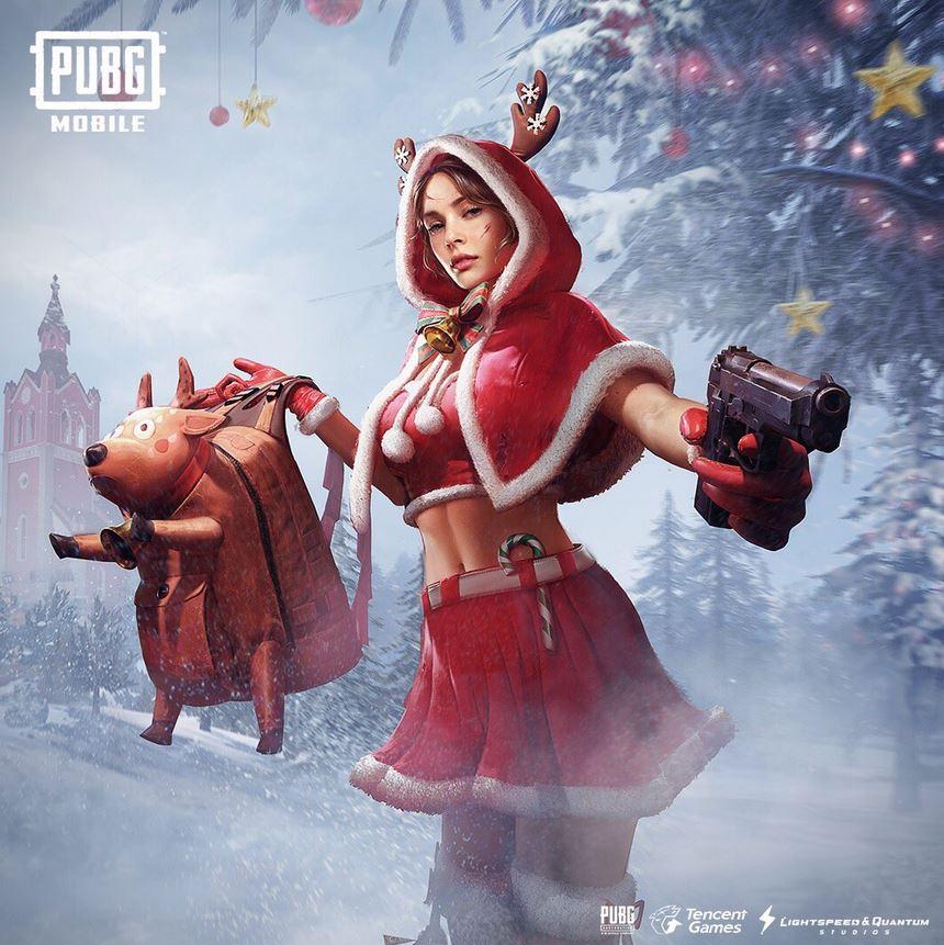 PUBG Mobile Santa