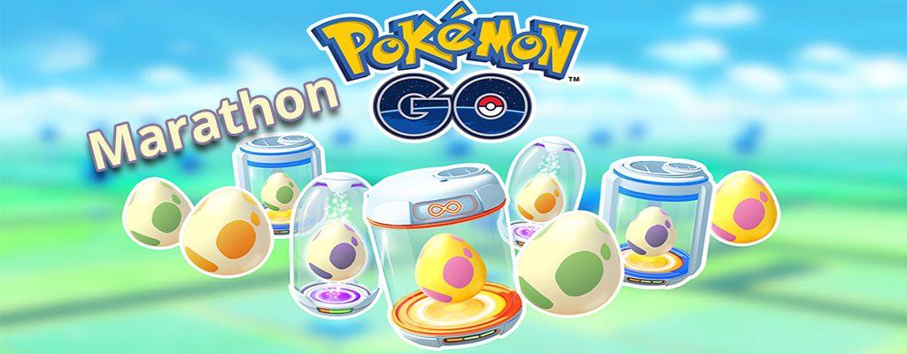 Pokémon GO Ei Marathon Titel