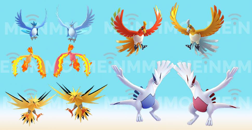 Pokémon GO Legendär Shiny