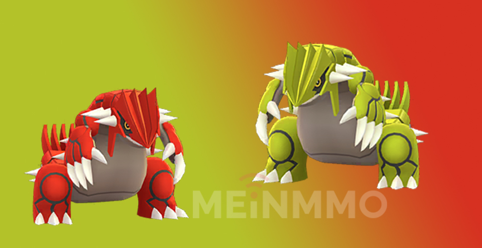 Pokémon GO Shiny Groudon