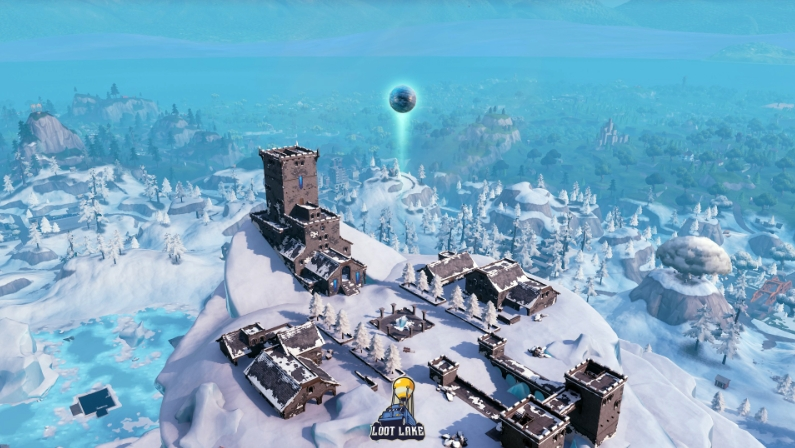 Polar Peak Fortnite Map