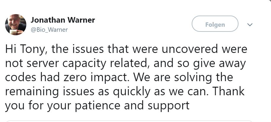 Probleme-Warner