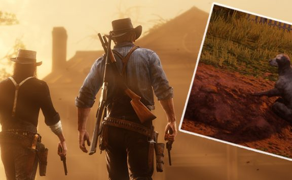 Red Dead Redemption 2 Hund Traurig Titel