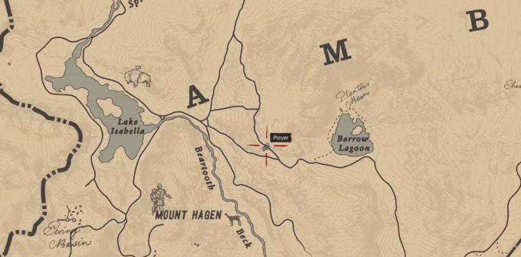 Red Dead Redemption 2 Schnee Weg Berg2