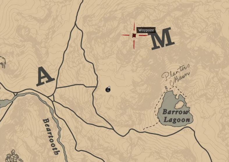 Red Dead Redemption 2 Schnee Weg Berg3