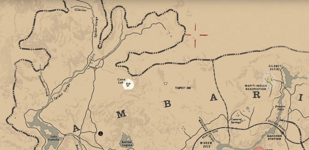 Red Dead Redemption 2 Schnee Weg Berg4