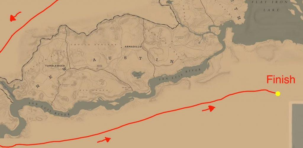 Red Dead Redemption 2 Um die Map2