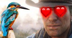 So entspannend und schön ist Red Dead Redemption 2, wenn Ihr als Vogel spielt