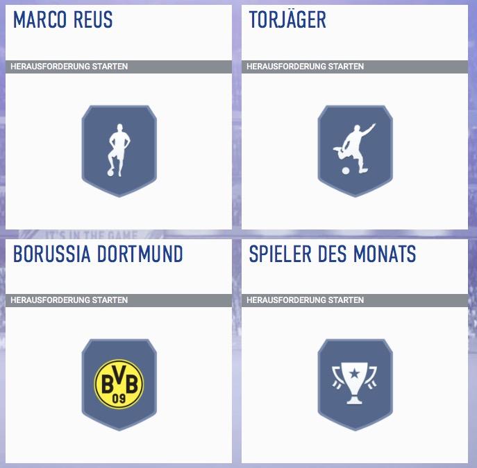 Reus POTM 3 SBC FIFA 19