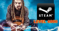 Steam Level 4000 title