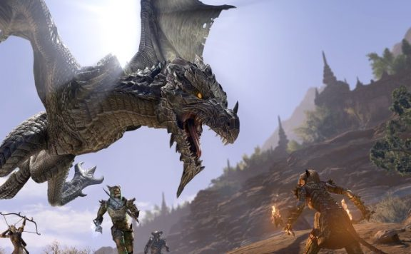 The Elder Scrolls Online Drache Aufmacher