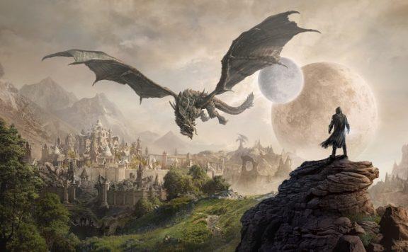 The Elder Scrolls Online ESO Elsweyr Drache
