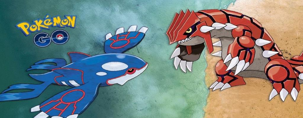Spieler von Pokémon GO zeigen: So bezwingt ihr Kyogre und Groudon im Duo