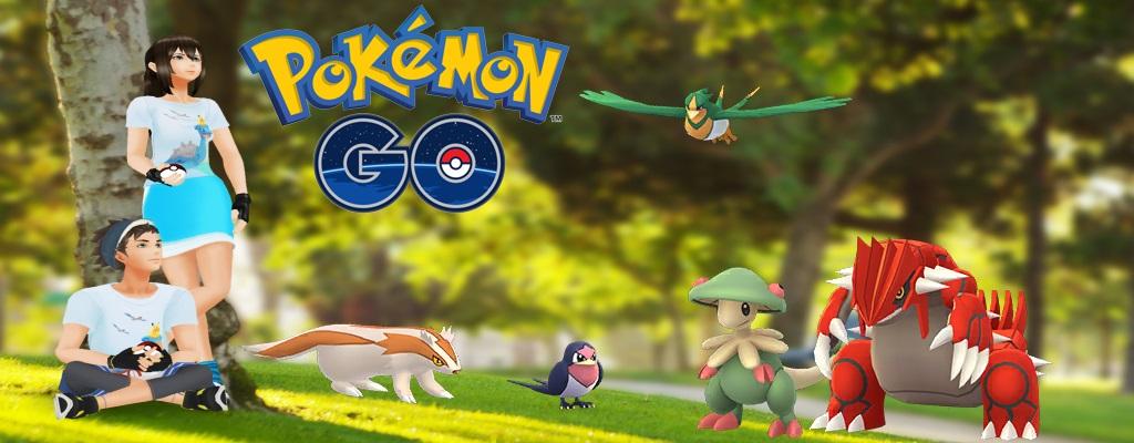 Pokémon GO: Hoenn-Event mit Shinys und neuen Raids startet heute