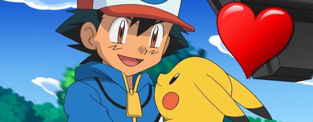 Pokemon Ash Pikachu freuen