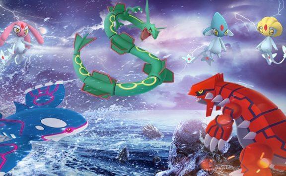 Titelbild legendäre Pokemon