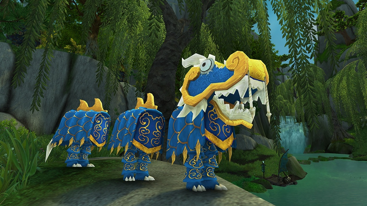 WoW Lunar Festival Toy Blue