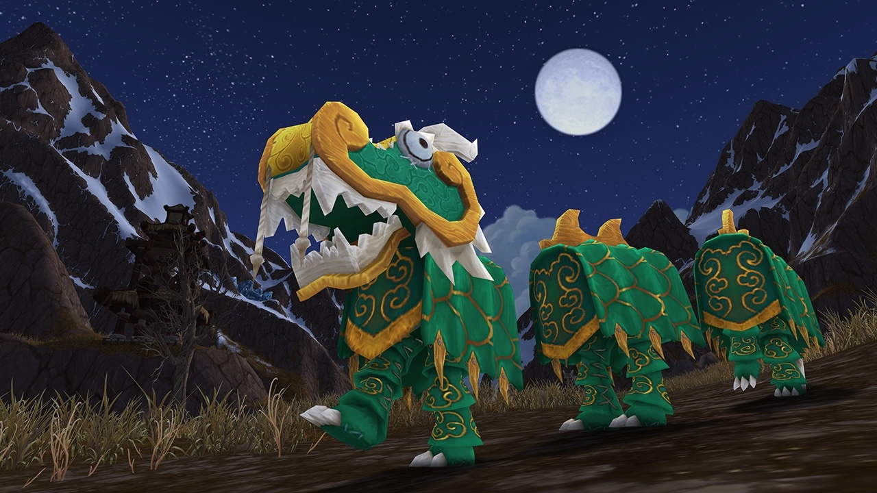 WoW Lunar Festival Toy Green