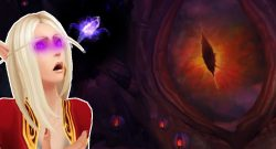 WoW Nzoth blood elf title