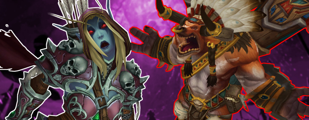 WoW Sylvanas death Baine yell title