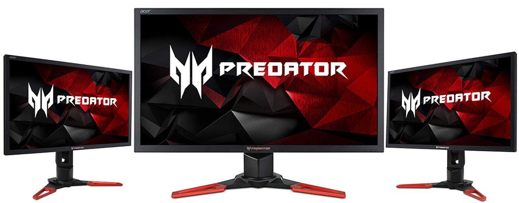 Acer Predator Gaming-Monitor mit G-Sync günstig wie nie zuvor