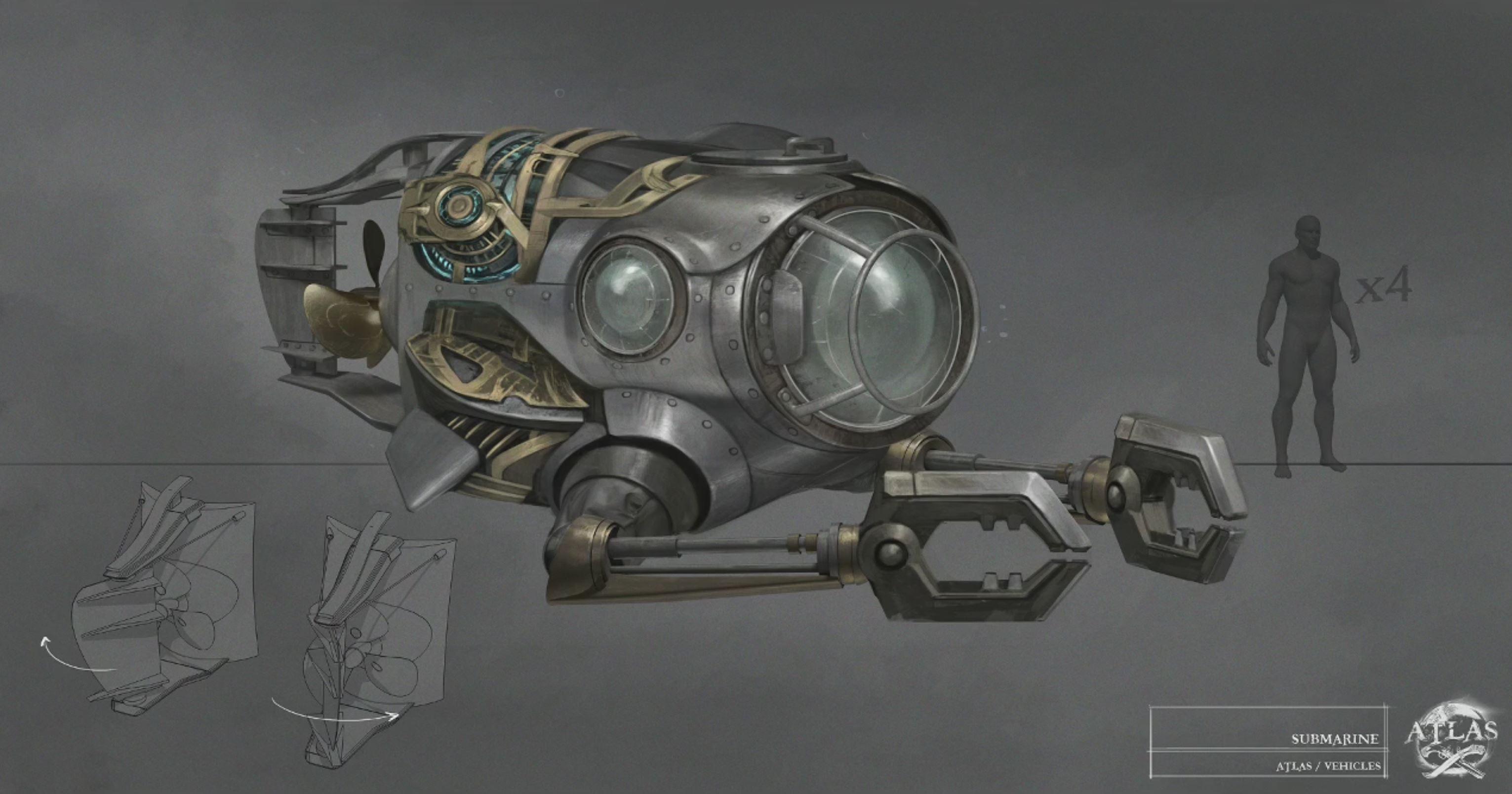 atlas submarine