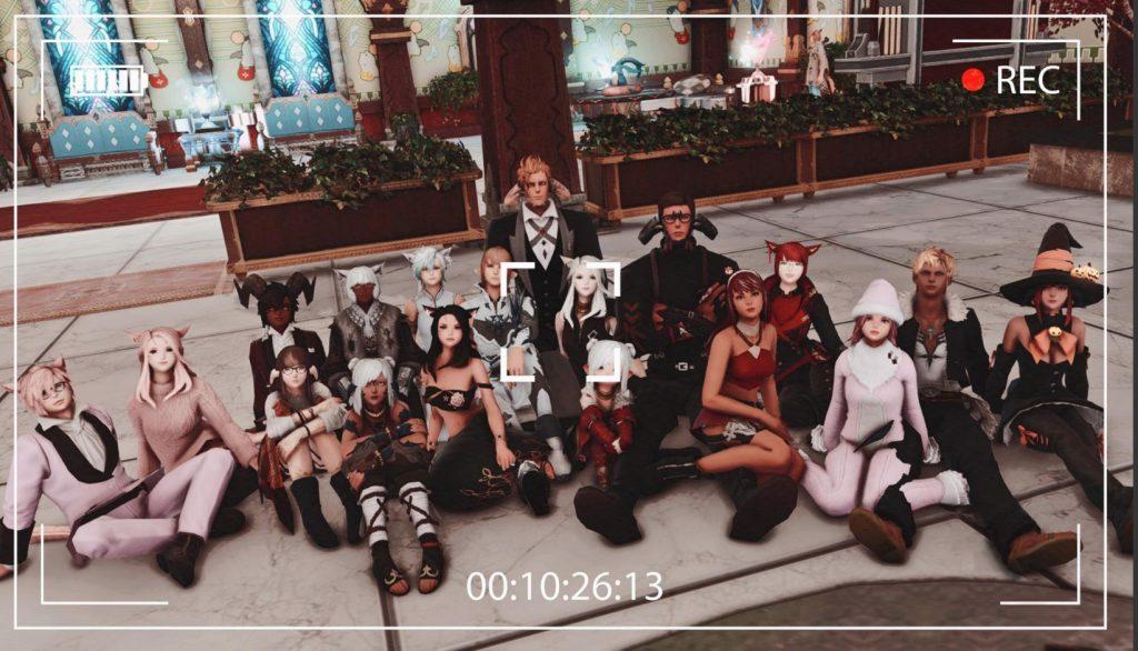 final fantasy xiv gposers gruppenbild