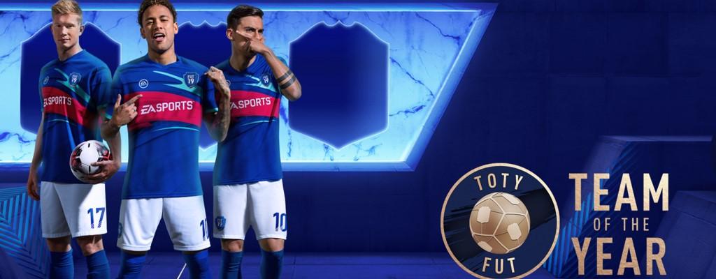 FIFA 19: Das TOTY ist jetzt in den Packs – Das sind die besten Spieler