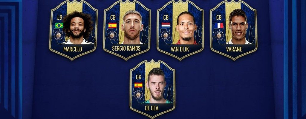 FIFA 19 TOTY: Abwehrspieler und Torwart des Jahres nun in den Packs