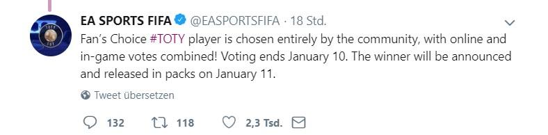 fifa toty voting tweet