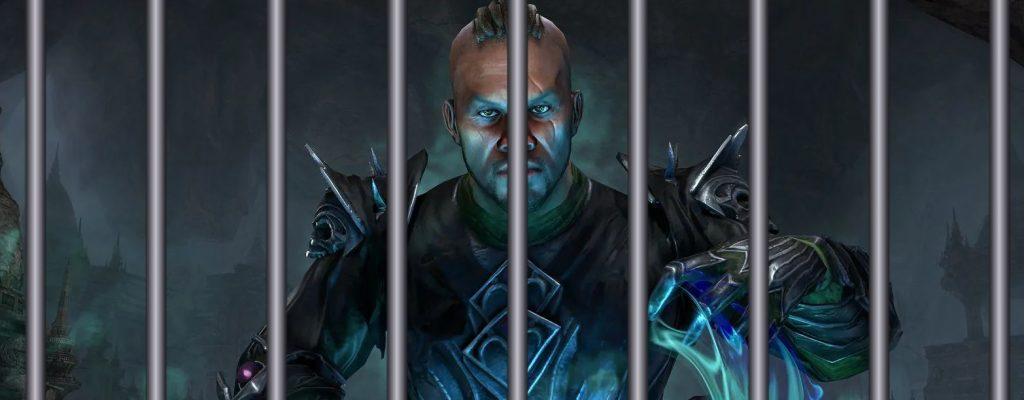 Wer die neue Klasse in The Elder Scrolls Online spielt, wird verhaftet