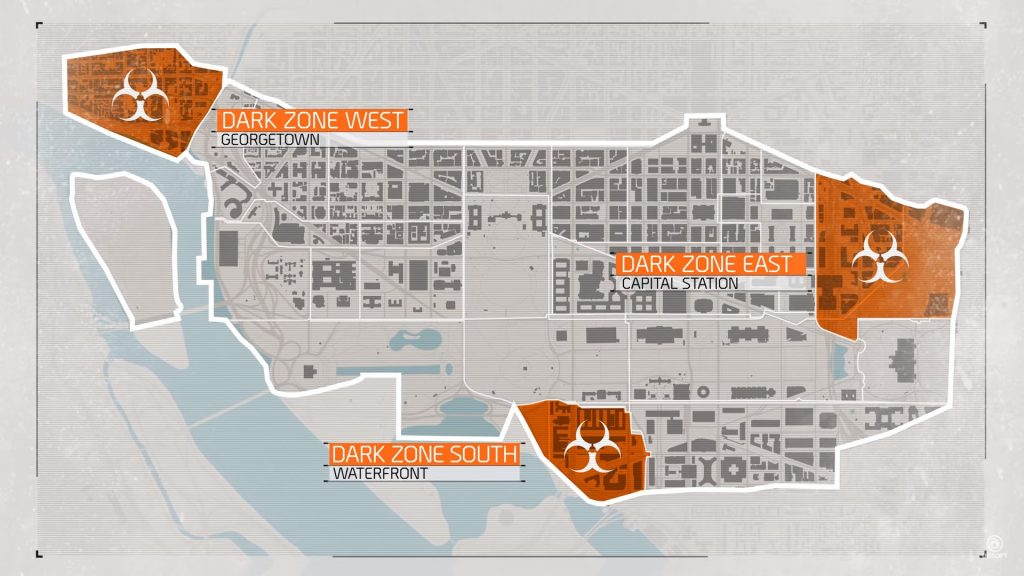 the division 2 dark zone map