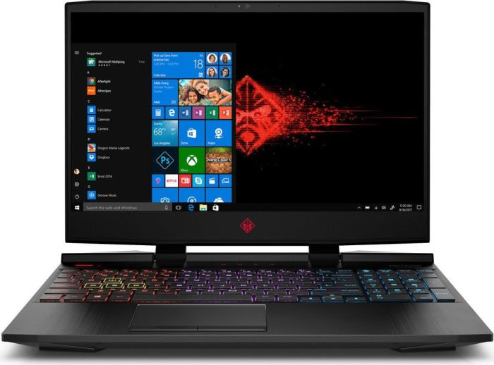 HP Omen 15-dc1001ng Gaming-Notebook mit RTX 2060
