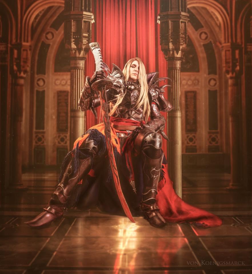final fantasy xiv chezah zenos cosplay