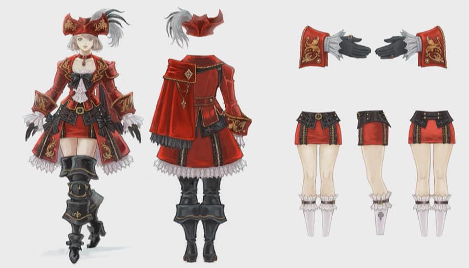 final fantasy xiv shadowbringers rotmagier rüstung 2