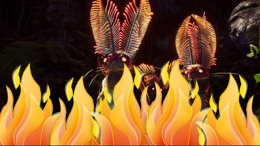 Anthem-Klauninchen-Flammen