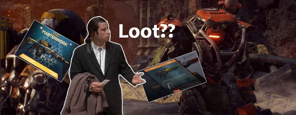 Anthem Loot Meme Travolta