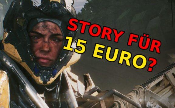Anthem Story 15 Euro titel