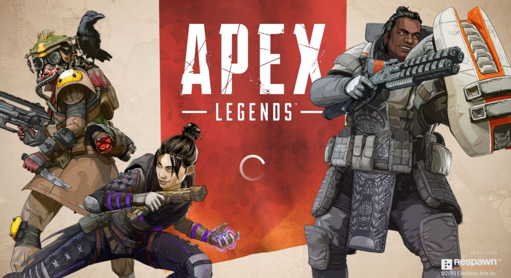 Apex Legends Ladebildschirm Server Down